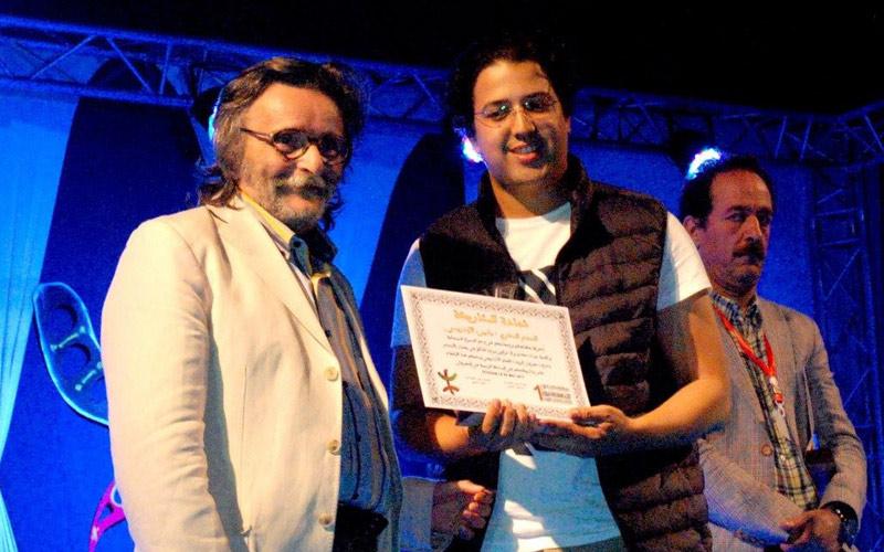 سعيد بلي يفوز بالجائزة الكبرى لمهرجان الريف للفيلم