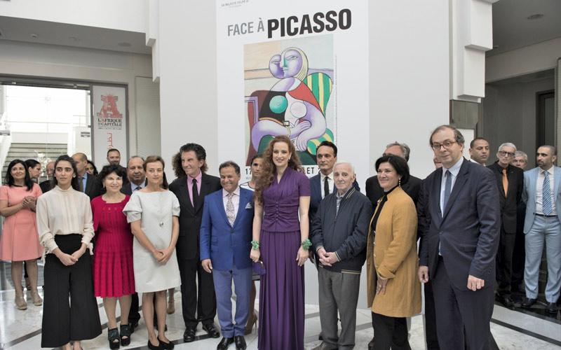 """الأميرة للا سلمى تدشن معرض """"أمام بيكاسو"""" بالرباط"""
