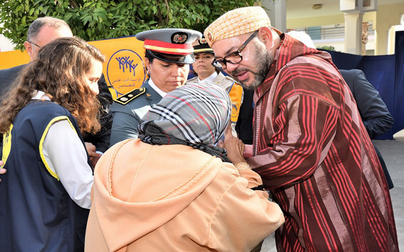 الملك يطلق عملية توزيع الدعم الغذائي لرمضان على 3 ملايين مغربي