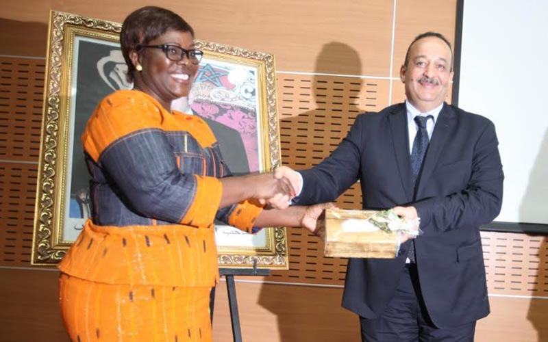 زيارة وفد إعلامي من ساحل العاج لبيت الصحافة