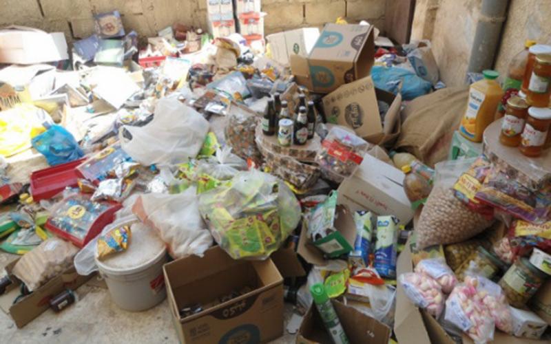 تاونات. حجز وإتلاف 836 كلغ من المواد الغذائية غير الصالحة للاستهلاك