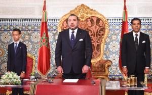 الملك يلقي خطاب العرش زوال اليوم من طنجة