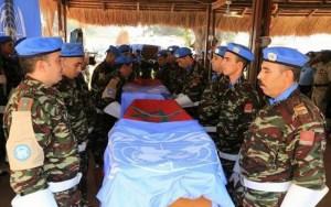 مصرع جندي مغربي واصابة ثلاثة آخرين بافريقيا الوسطى