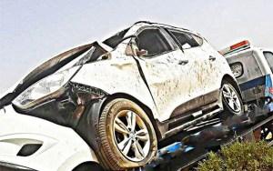مصرع شخصين من عائلة واحدة في حادثة سير ضواحي الراشيدية