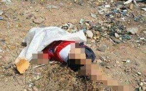 وحش آدمي يذبح طفلا ويأكل قلبه ويشرب دمه