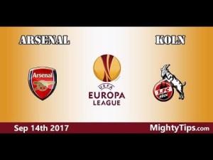 شاهد الدوري الأوروبي مباشرة مباراة ارسنال وكولن