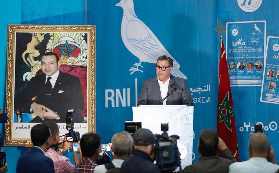 عزيز أخنوش : المصادقة على القانون التنظيمي للأمازيغية هو انتصار لجميع المغاربة