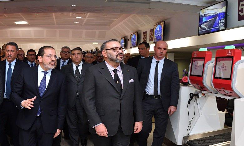 وداعا الفوضى فـ مطار محمد 5 بكازا.. الملك يدشن الجديد بملامح ومعايير دولية