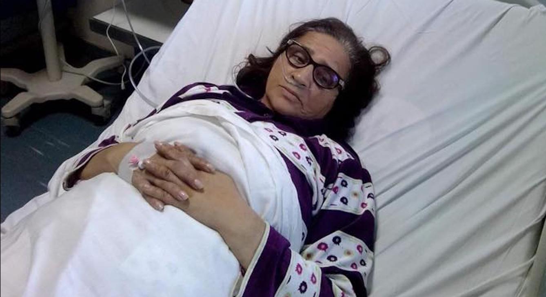 بسبب وعكة صحية.. الفنانة زهور السليماني تدخل المستشفى العسكري