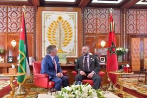 ملك الأردن: أشكر أخي وابن عمي محمد السادس على مواقفه للأردن والقدس