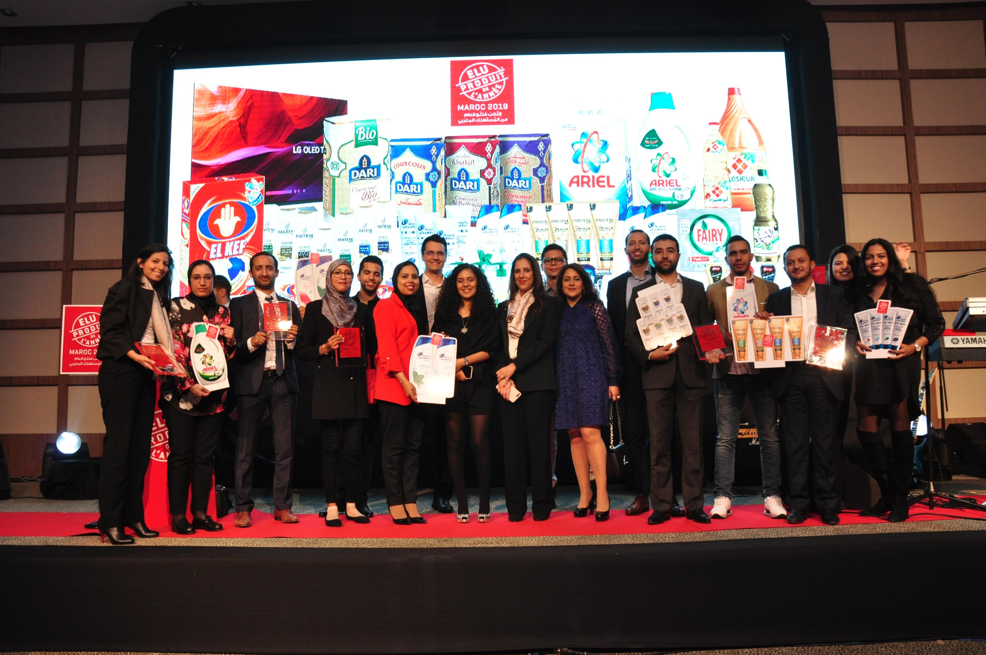 'بروكتر أند غامبل المغرب' الشركة الأكثر تتويجا في منافسة منتج السنة