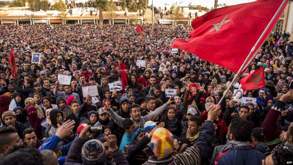 تقرير رسمي عن احتجاجات جرادة يوصي بالحوار وضرورة احترام حق التظاهر السلمي بالمغرب