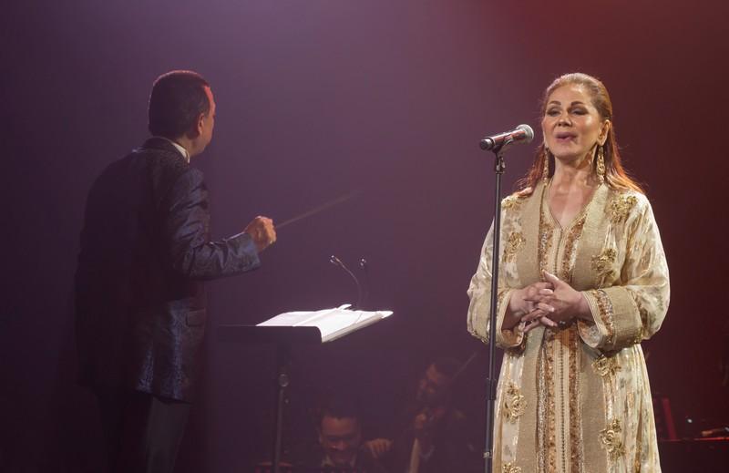 ميادة الحناوي سعيدة بتفاعل الجمهور المغربي مع سهرتها بموازين