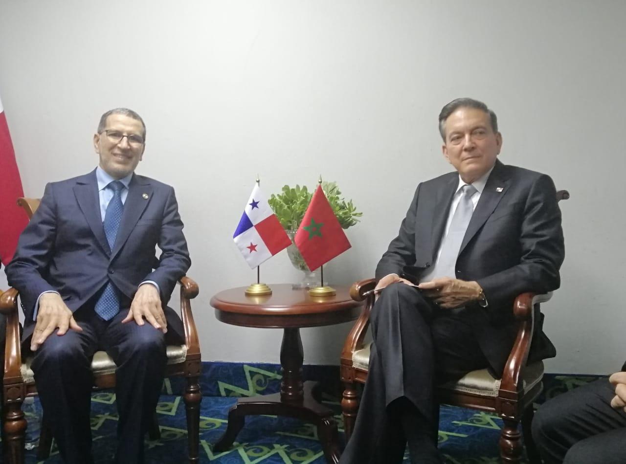العثماني: تنصيب الرئيس البنمي مناسبة للتعريف بقضية الوحدة الترابية