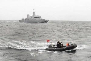 البحرية الملكية تحبط عملية لتهريب المخدرات وتنتشل ثلاثة أطنان منها بالناظور