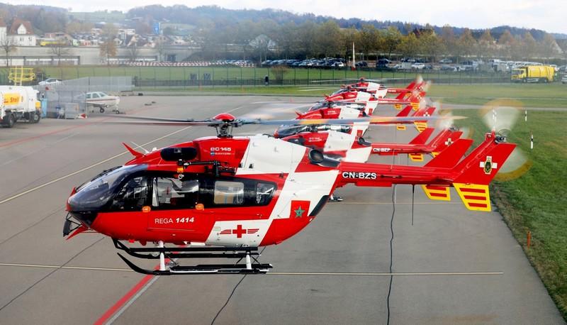 بالصور. أسطول الدرك الملكي يتعزز بمروحيات سويسرية مخصصة للبحث والإنقاذ