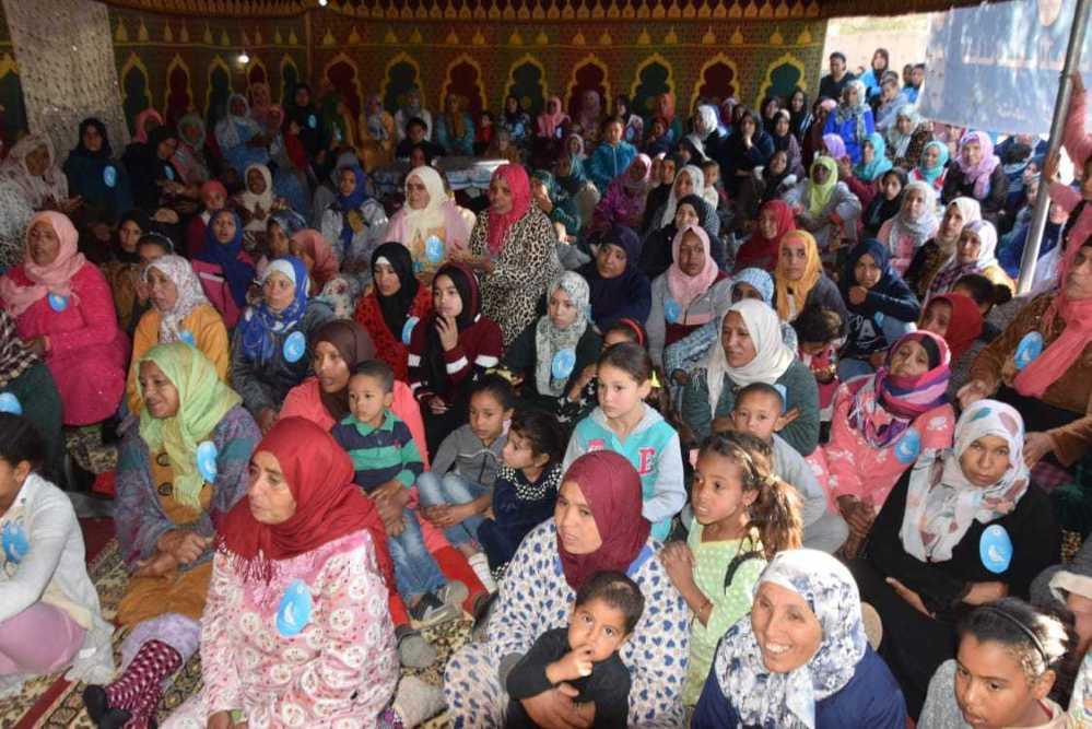 بني ملال. 'المرأة التجمعية' تواصل الانصات لمشاكل نساء أوزود