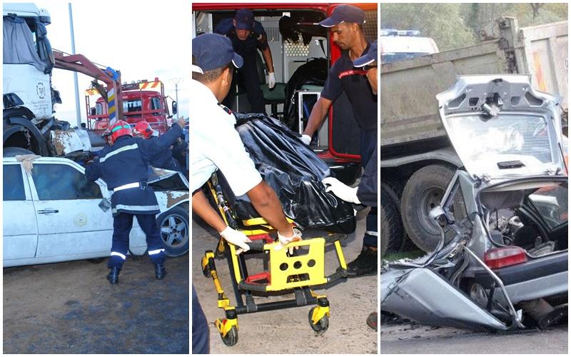 13 مغربياً ماتوا في حرب الطرق وإصابة 2011 جريحاً داخل المدن في أسبوع