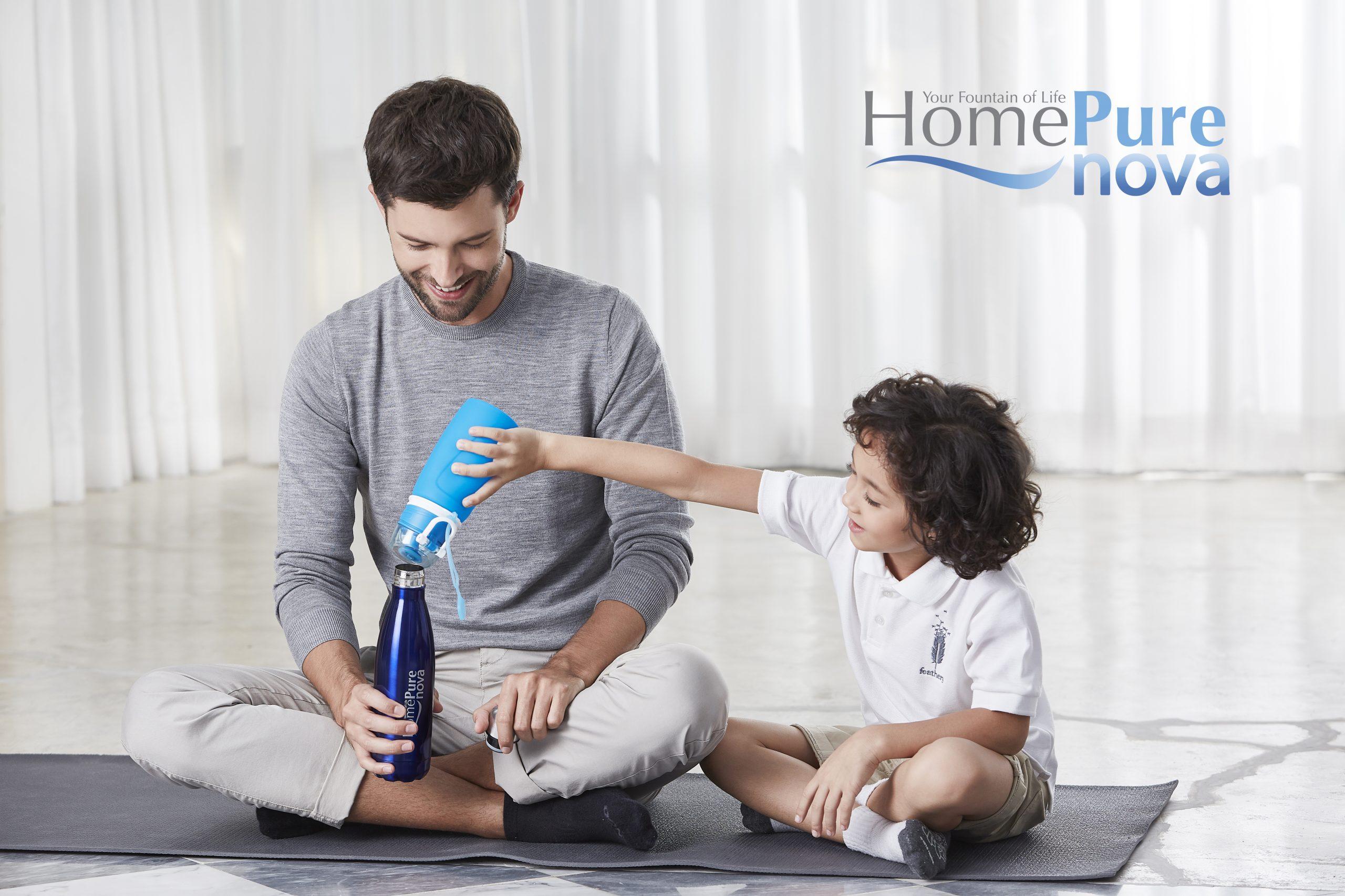 """"""" كيونت"""" تلتزم بتوفير مياه الشرب للجميع من خلال HomePure Nova"""