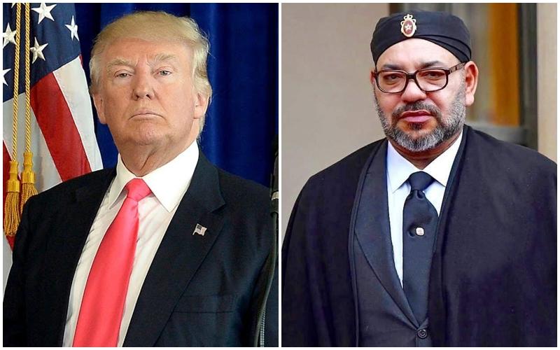 بعد إصابتهما بكورونا.. الملك يتمنى الشفاء العاجل للرئيس ترامب ولعقيلته ميلانيا