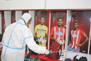 كورونا يصيب المغرب التطواني قبيل نصف نهائي كأس العرش