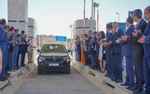 افتتاح بدال ومدخل محطة ليكسوس على مستوى الطريق السيار طنجة-الرباط