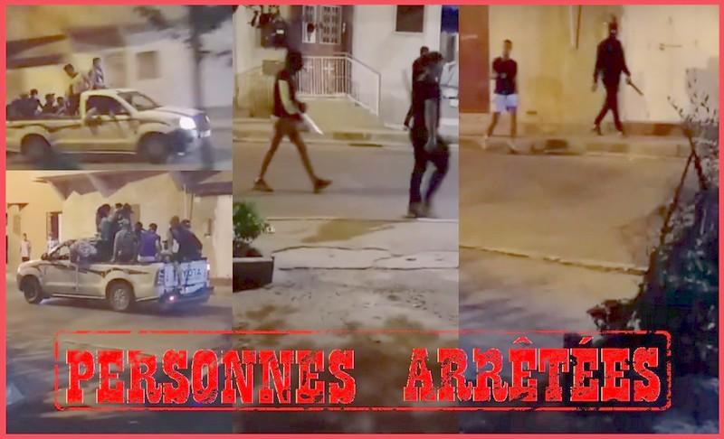 مكناس. فيديو يوقع بـ5 تجار 'حشيش' مُسلحين وخطيرين في قبضة الأمن