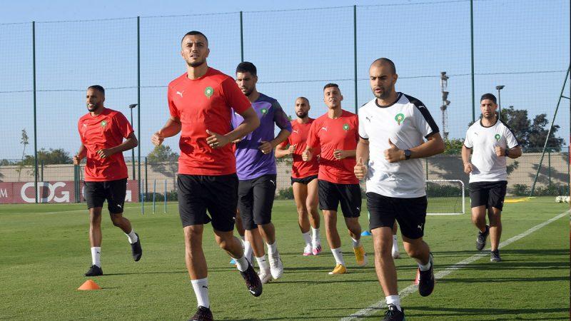 غياب 8 لاعبين عن تداريب المنتخب المغربي قبل مواجهة السنغال