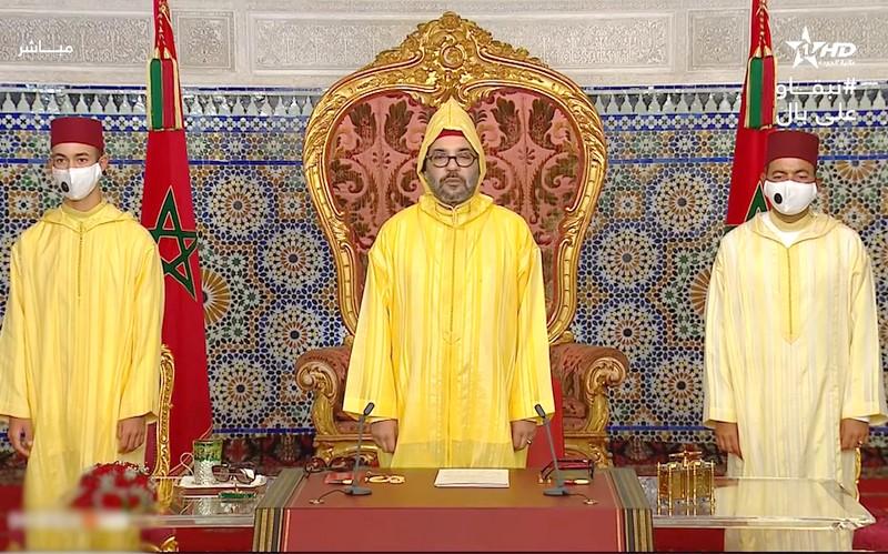 الملك: الأزمة الوبائية أبانت عن مجموعة من الاختلالات ومظاهر العجز