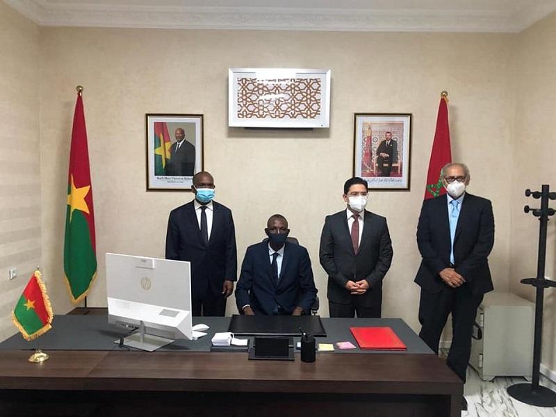 الدبلوماسية المغربية تتحرك.. بوركينا فاسو تفتح قنصلية عامة بالداخلة (صور)