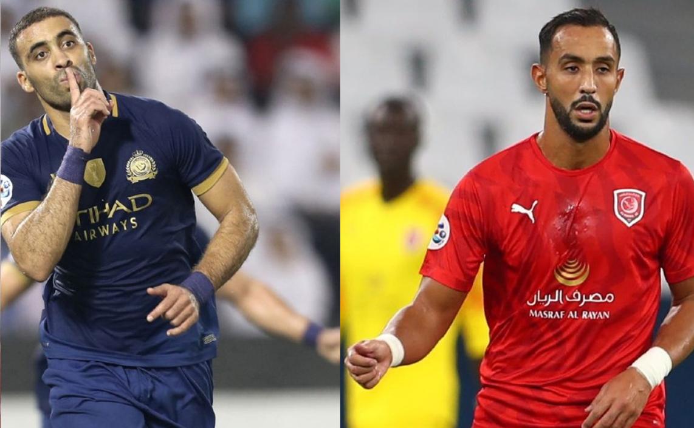 حمد الله وبنعطية يتنافسان على جائزة أفضل لاعب شمال إفريقي بآسيا
