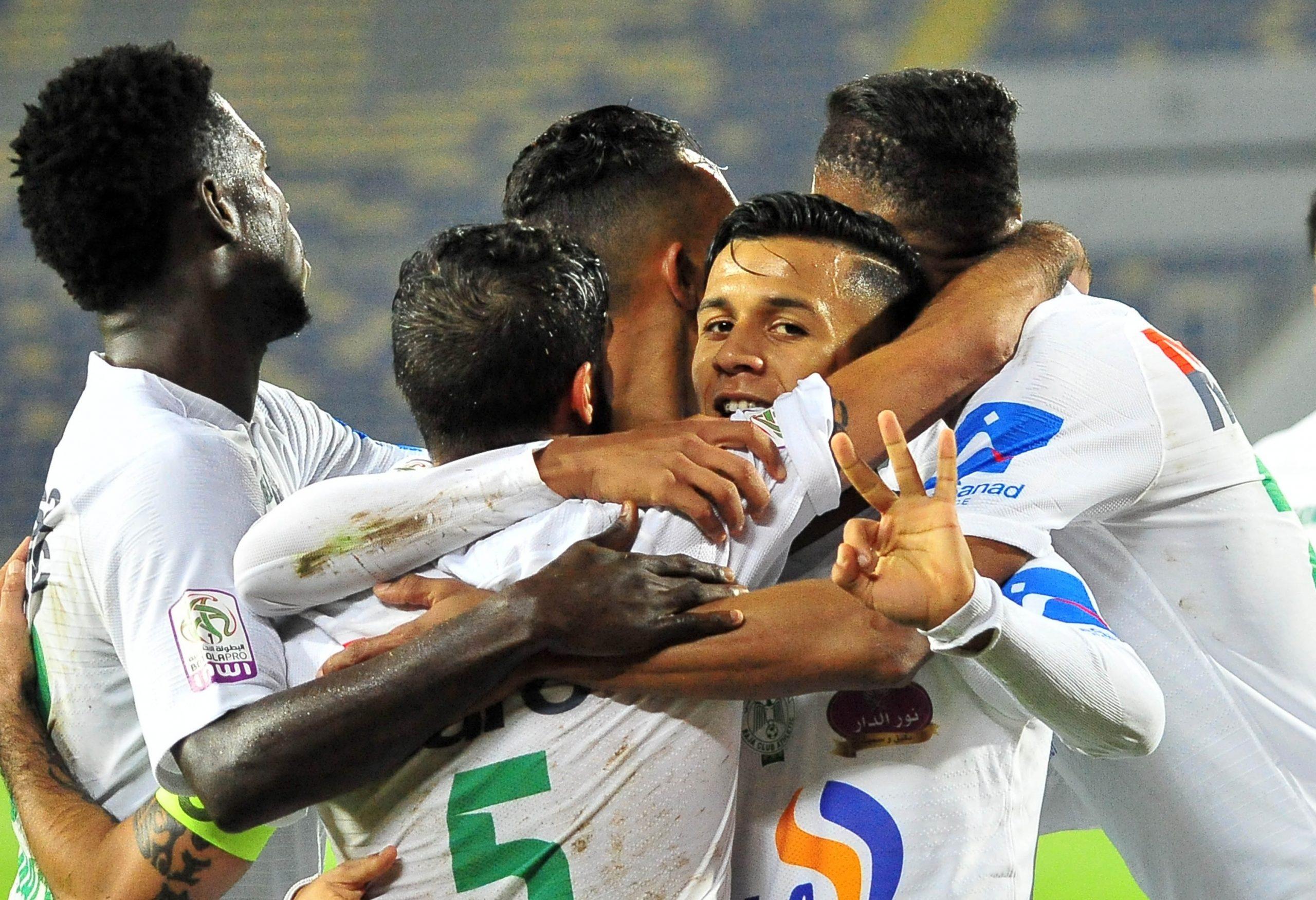 الرجاء الرياضي يحقق أول فوز له في البطولة المغربية على حساب وادي زم