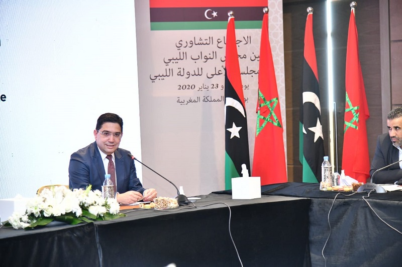 بوريطة: المغرب متفائل بمستقبل ليبيا ومنخرط في مواكبة الفرقاء حتى تنتهي الأزمة
