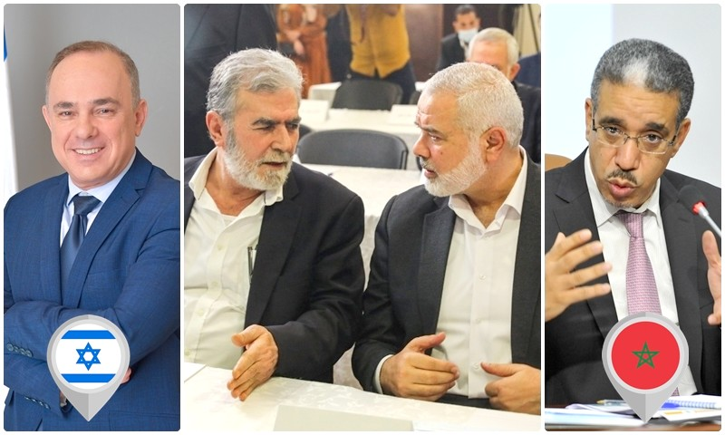 'حماس' و'الجهاد الإسلامي' تثوران غضبًا للقاء الرباح الإفتراضي مع وزير إسرائيلي