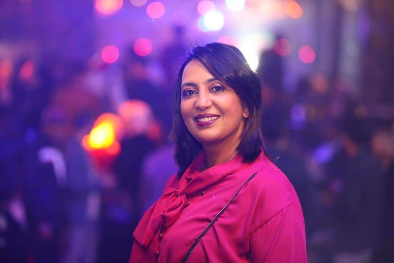 'رشيد شو' يخرج الممثلة هند السعديدي من عزلتها بعد ركود طويل