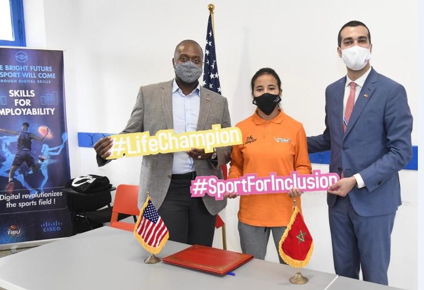 القنصل الأمريكي يدشن 'أكاديمية سيسكو' بالدار البيضاء