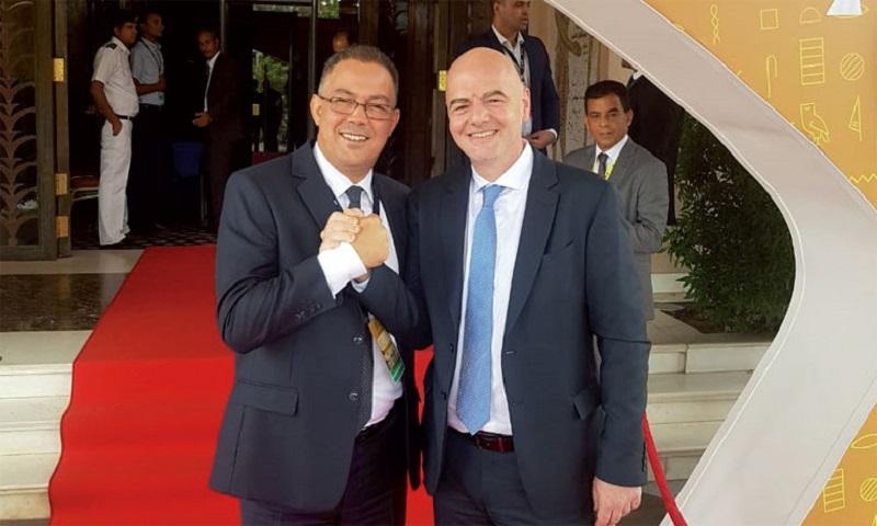 """بعدما أجل زيارته إلى الجزائر.. """"إنفانتينو"""" في زيارة عمل رسمية إلى المغرب"""