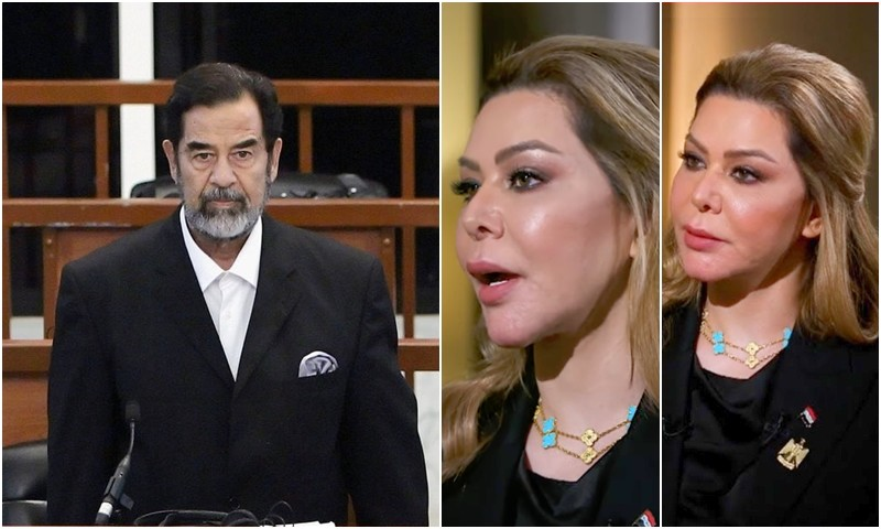 رغد صدام حسين: والدي كان مخدراً ولم يختبئ في غار.. ونفتخر أنه لقي تلك النهاية