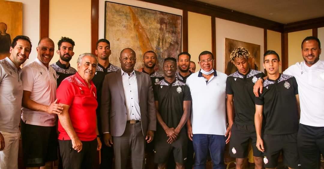 الوداد الرياضي: نشكر رئيس الإتحاد البوركينابي على حسن الاستقبال
