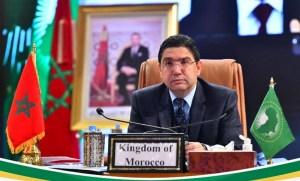 بوريطة: المغرب مستعد لتقاسم تجربته مع الدول الافريقية لتنظيم حملات التلقيح ضد كورونا