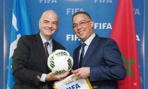 رئيس الفيفا: المغرب شغوف بكرة القدم، وسنعمل سويًا لتطويرها محليًا وأفريقياً