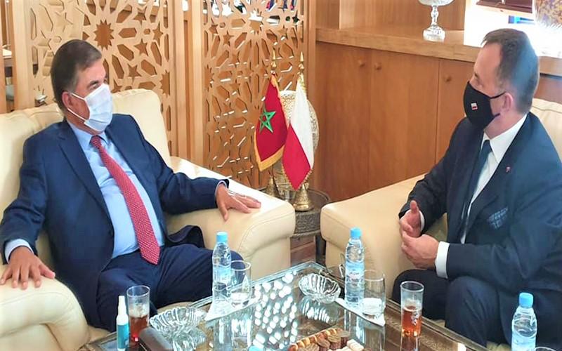 حافيدي يطلع سفير بولونيا على المؤهلات الاقتصادية لجهة سوس ماسة