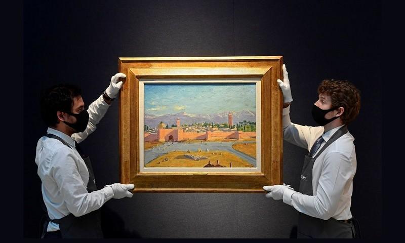 قصة لوحة 'الكتبية' ذات 3.5 مليون دولار.. حين قال تشرشل لروزفلت: تمتع بجبال الأطلس