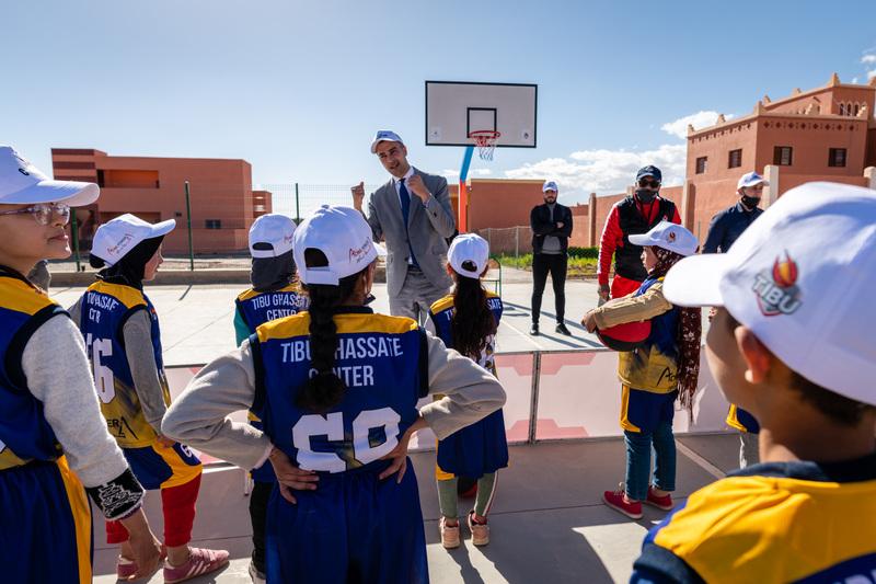 تيبو المغرب و أكوا باور يطلقان برنامجا للتربية عن طريق الرياضة بغسّات