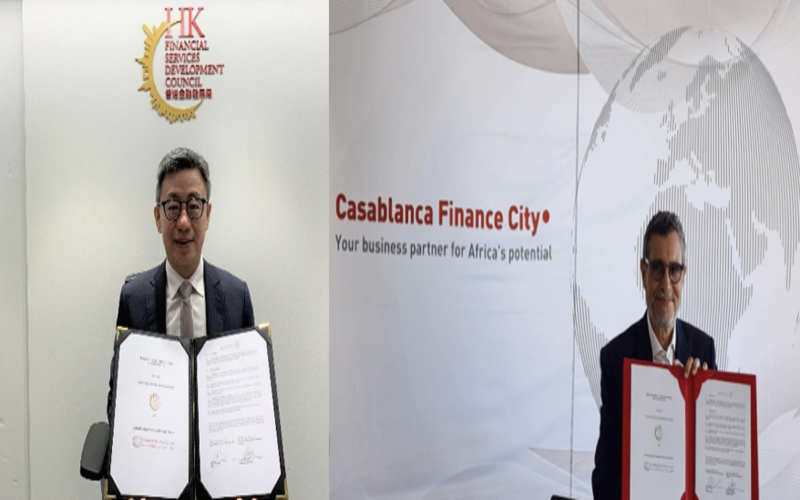 القطب المالي للدار البيضاء يطور مجال خدماته مع هونغ كونغ