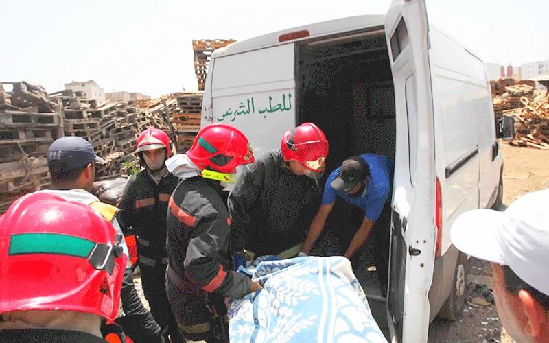 (صورة) مقتل فتاة وإصابة 16 شخصاً بعد سقوط سيارة في منحدر خطير نواحي وزان