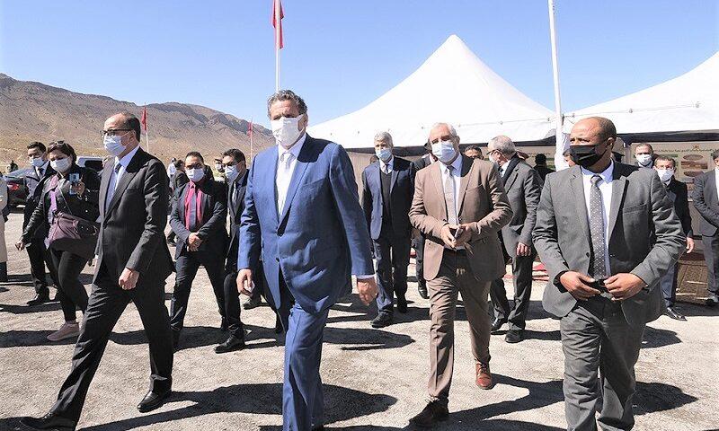 زيارة ميدانية تقود أخنوش لمشاريع فلاحية وقروية بإقليم ميدلت