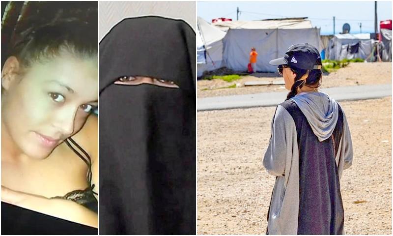 (صور) أشهر 'داعشية'.. الفرنسية 'إيميلي' تخلع النقاب وتطالب فرنسا بترحيلها من سوريا