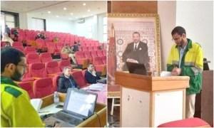 تكريماً لخدماتهم.. مغاربة يباركون لطالب ناقش أطروحة دكتوراه بزي عمال النظافة