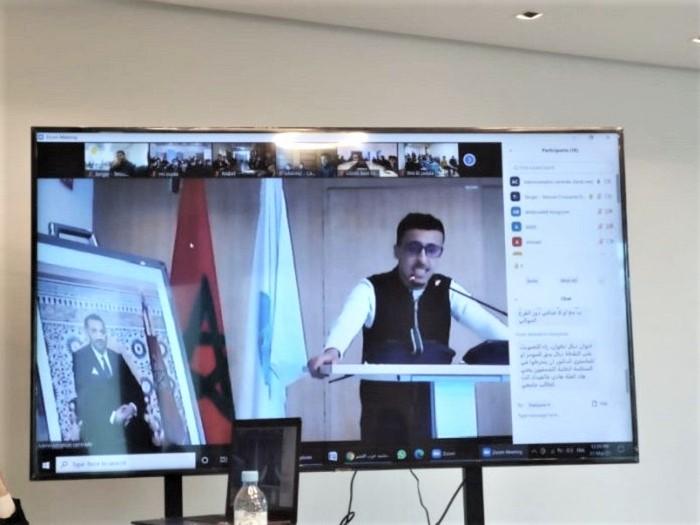 الطلبة التجمعيون ينتخبون بالإجماع عصام لميني رئيساً جديداً